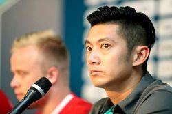 Conférence de presse avec Ho-Pin Tung