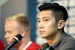 Conferenza stampa con Ho-Pin Tung