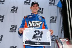 Matt Tifft, Joe Gibbs Racing Toyota pole winner