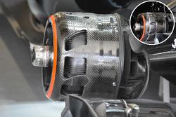 La conduite de frein de la McLaren MP4-31