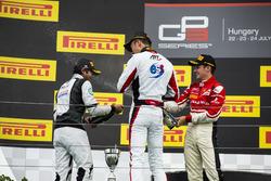 Alexander Albon, ART Grand Prix, Arjun Maini, Jenzer Motorsport y Charles Leclerc, ART Grand Prix