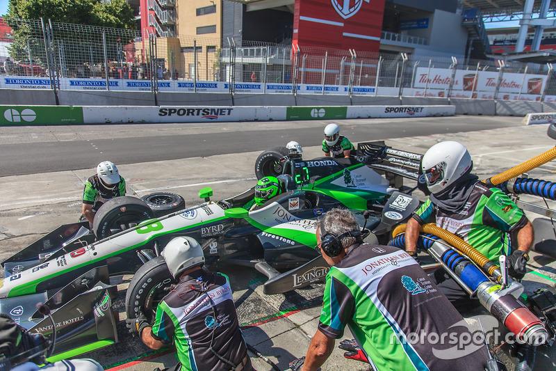 Arrêt de Conor Daly, Dale Coyne Racing Honda