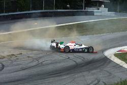 #54 CORE autosport Oreca FLM09: Jon Bennett, Colin Braun in trouble