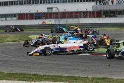Kikko Galbiati, Antonelli Motorsport crash