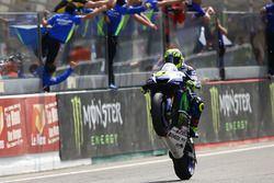 Valentino Rossi, Yamaha Factory Racing consigue la segunda plaza