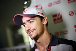 Esteban Gutiérrez, Haas F1 Team avec les médias