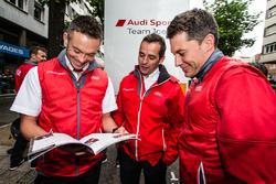 Audi Sport Team Joest Audi R18: Andre Lotterer, Benoit Tréluyer and Loic Duval