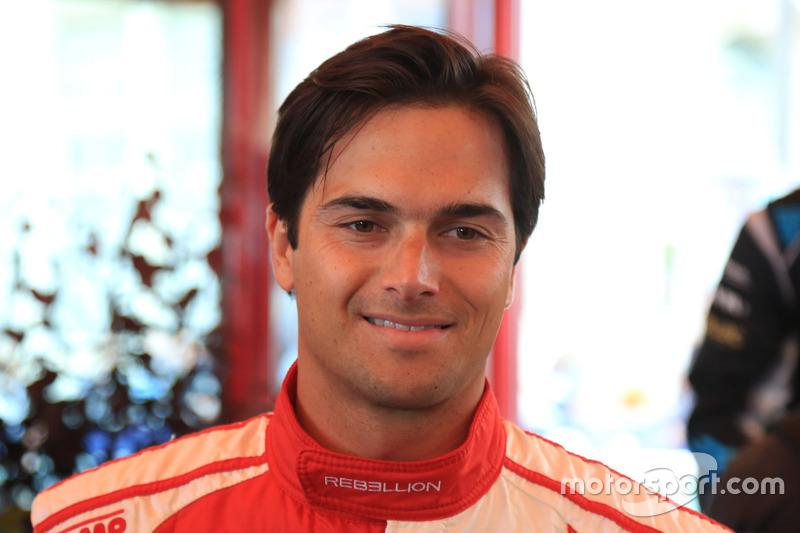 #12 Rebellion Racing Rebellion R-One AER: Nelsinho Piquet
