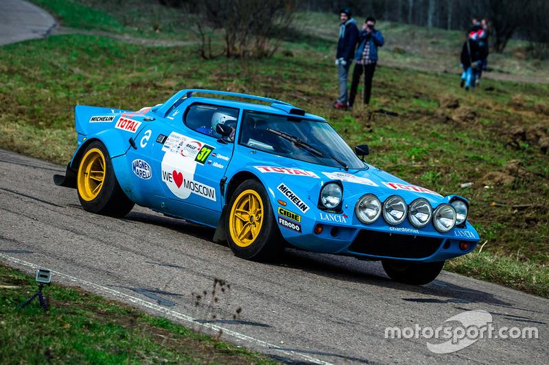 Александр Алибеков и Олег Уперенко, Lancia Stratos