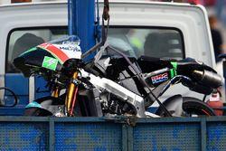 Unfall: Adam Norrodin, Drive M7 SIC Racing Team