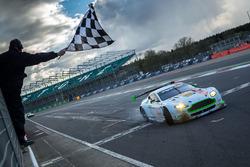 #96 Aston Martin Racing Aston Martin V8 Vantage: Roald Goethe, Stuart Hall, Richie Stanaway