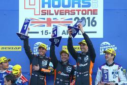 #38 G-Drive Racing Gibson 015S-Nissan: Simon Dolan, Giedo van der Garde, Harry Tincknell race winner