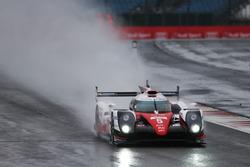 Anthony Davidson, Sebastien Buemi, Kazuki Nakajima, #05 Toyota Gazoo Racing Toyota TS050 Hybrid
