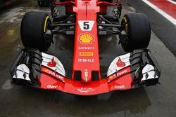 Ferrari SF70H nariz y el ala delantera