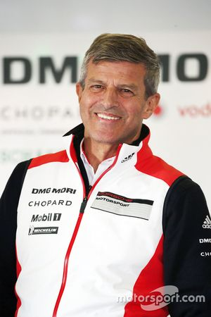 Fritz Enzinger, head of Porsche Team LMP1