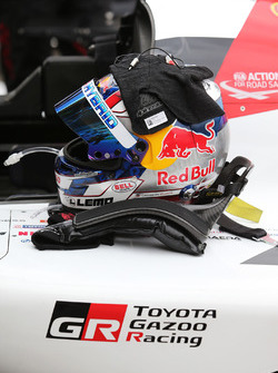 Sébastien Buemi, Toyota Gazon Racing kask
