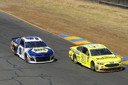 Paul Menard, Wood Brothers Racing, Ford Fusion Menards / Richmond and Chase Elliott, Hendrick Motorsports, Chevrolet Camaro NAPA Auto Parts