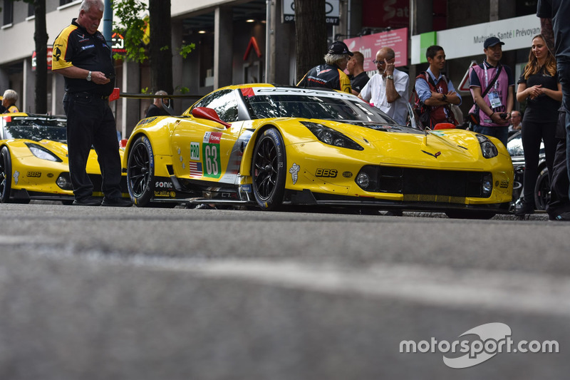 #63 Corvette Racing Chevrolet Corvette C7.R