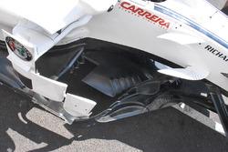 Sauber C37 tablas laterales