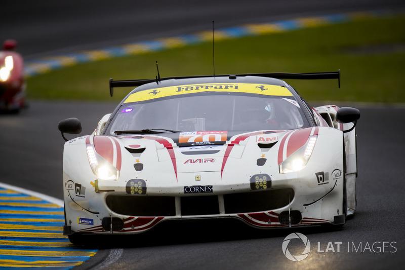 13. LMGTE-Am: #70 MR Racing, Ferrari 488 GTE
