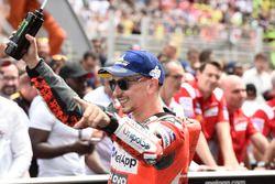 Yarış galibi Jorge Lorenzo, Ducati Team