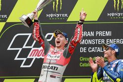 Podio: ganador de la carrera Jorge Lorenzo, Ducati