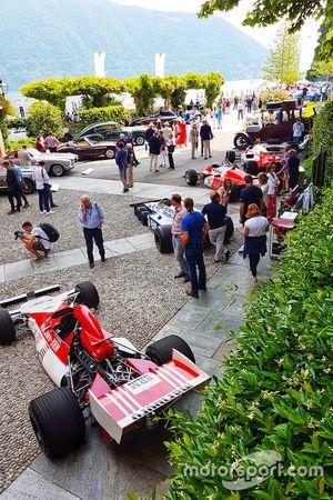F1 storiche in esposizione