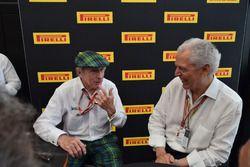 Sir Jackie Stewart e Marco Tronchetti Provera, Vice Presidente esecutivo, Pirelli