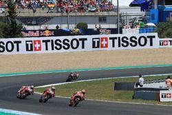 Marc Marquez, Repsol Honda Team, Jorge Lorenzo, Ducati Team, Andrea Dovizioso, Ducati Team, Dani Pedrosa, Repsol Honda Team, Johann Zarco, Monster Yamaha Tech 3