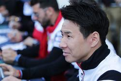 Kamui Kobayashi, Toyota Gazoo Racing during autograph session