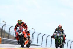 Chaz Davies, Aruba.it Racing-Ducati SBK Team, Jonathan Jonathan Rea, Kawasaki Racing