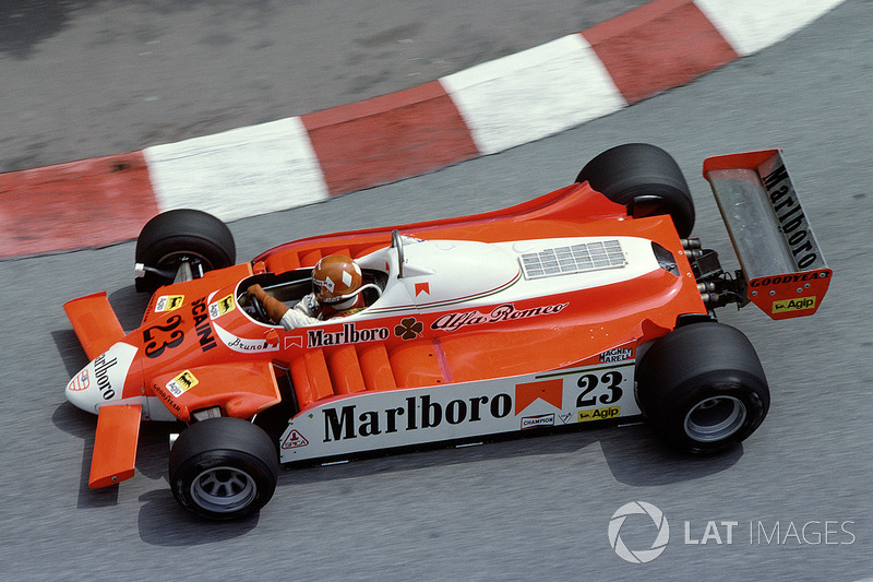 Bruno Giacomelli, Alfa Romeo 179 (1980)