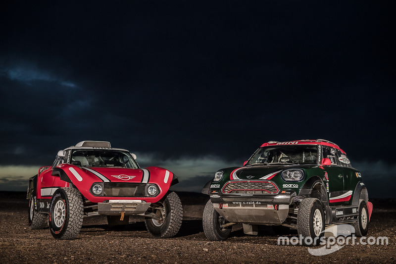 MINI John Cooper Works Rally y MINI John Cooper Works Buggy