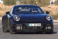 Spyshot de la Porsche 911 Turbo 2019