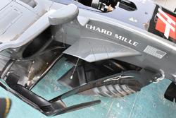 Haas F1 Team VF-17 floor detail