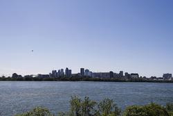 La ligne d'horizon de Montréal