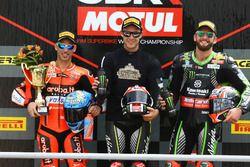 Marco Melandri, Aruba.it Racing-Ducati SBK Team, Jonathan Rea, Kawasaki Racing, om Sykes, Kawasaki R
