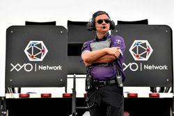 Brandon Jones, Joe Gibbs Racing, Toyota Camry Toyota XYO Networks crew chief Christopher Gabehart