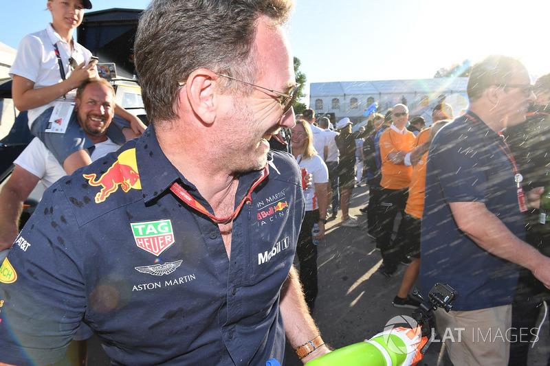 Гонки на плотах: руководитель Red Bull Racing Кристиан Хорнер