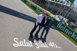 Jacques Villeneuve, Joann Villeneuve, Francois Dumontier