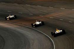Josef Newgarden, Team Penske Chevrolet, Simon Pagenaud, Team Penske Chevrolet, Alexander Rossi, Andr