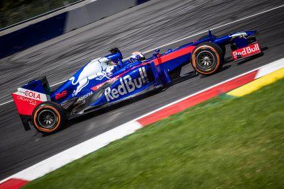 Tes F1 Toro Rosso Pedrosa dan Cairoli
