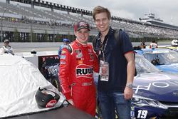 Christopher Bell, Joe Gibbs Racing, Toyota Camry Ruud-Meier Supply Guests