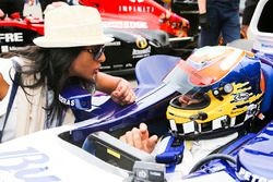Karun Chandhok in the Williams FW26 BMW