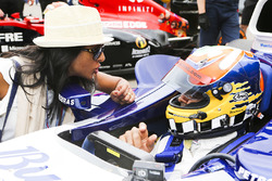 Karun Chandhok in de Williams FW26 BMW