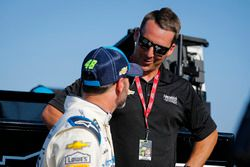 Ryan Patton and Jimmie Johnson, Hendrick Motorsports, Chevrolet Camaro Lowe's / Jimmie Johnson Foundation