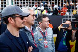 Aktör Orlando Bloom ve Alejandro Agag, Formula E CEO