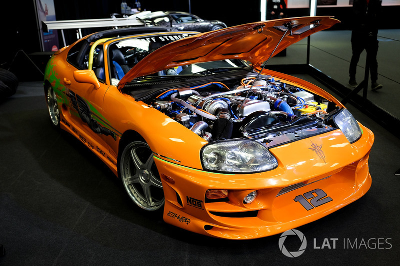 toyota supra from the fast and the furious bei autoshow in. Black Bedroom Furniture Sets. Home Design Ideas