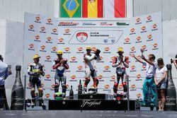 Podium CEV Moto2 Barcelona: Dimas Ekky, Astra Honda Racing Team