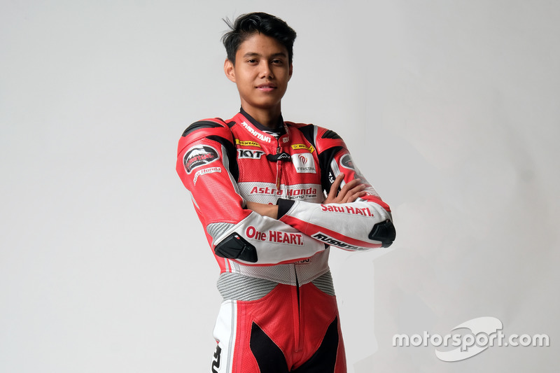 SS600: Irfan Ardiansyah, Astra Honda Racing Team